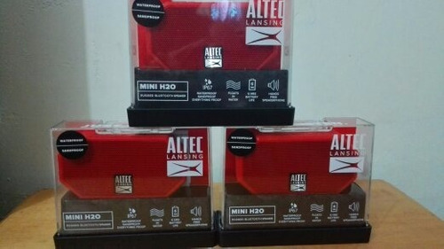 Altec Lansing Mini H20 Rugged Bluetooth Speaker