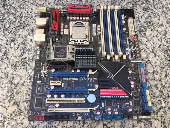Placa Mãe Asus Rampage 3 Extreme 1366 + Processador I7 980x