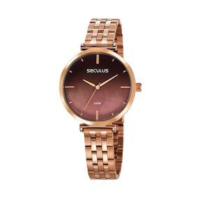 Relógio Feminino Seculus Rosé