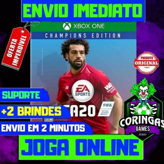 Fifa 20 - Xbox One - Mídia Digital + 2 Jogos Brindes
