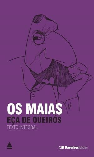 Livro De Bolso Os Maias Eça De Queirós Literatura Portuguesa