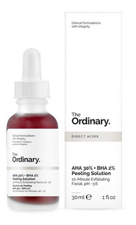 The Ordinary Aha 30% + Bha 2% Peeling Solution 100%original