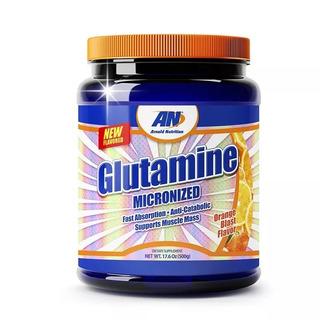 L-glutamine Micronize 500g Laranja - Arnold Nutrition
