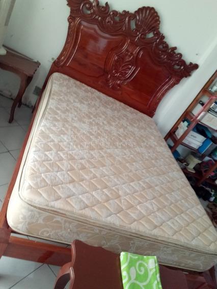 Cama De Cedro Tallada A Mano, De La Region De Los Tuxtlas