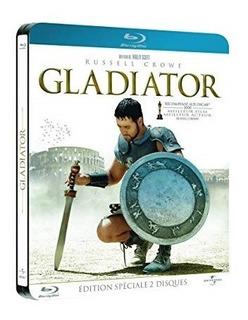 Gladiador Blu Ray Edición Especial 2 Discos Steelbook