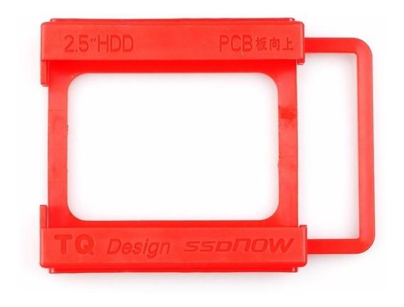 Adaptador Suporte Ssd Hd 2.5 Para Baia 3.5 Plástico Ou Metal