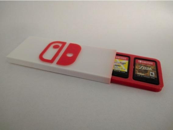 Case Para Jogos Nintendo Switch - Porta Jogos