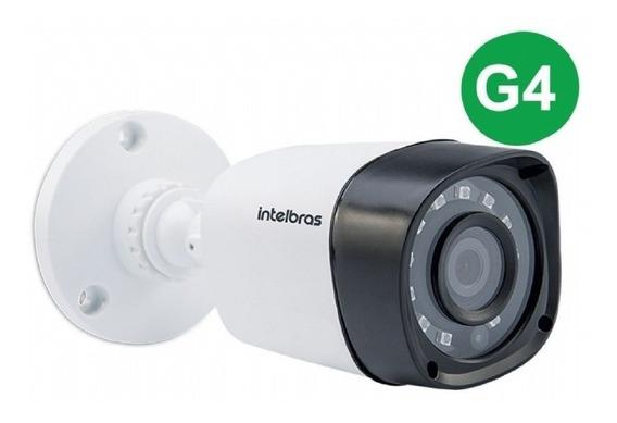 Câmera Bullet Hd Infravermelho Hdcvi Intelbras 1010b 3,6mm