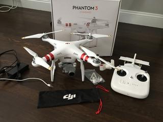 Drone Dji Phantom 3 Standar ( Muy Poco Uso)