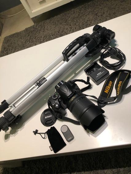 Cámara Nikon D3000 + 18/105mm