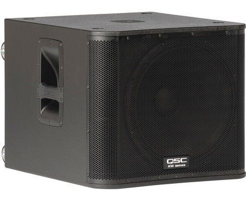 Qsc Kw181 Subwoofer Ativo 18