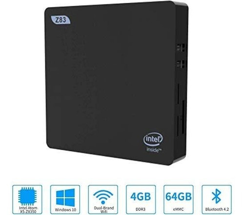 Mini Pc Intel X5-z8350 Windows 10 Pre Instalado 4gb 64gb