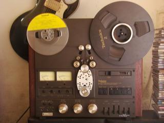 Grabador Cinta Abierta Technics 1506 4 Track