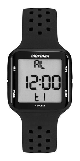 Relógio Mormaii Digital Preto Unissex Mo6600/8p Original