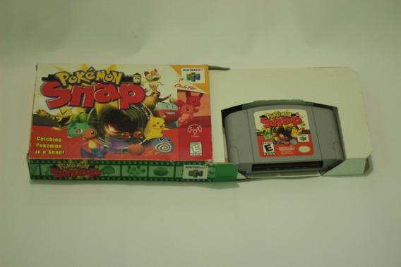 Jogo Pokemon Snap Americano Original Nintendo 64 Fretegratis