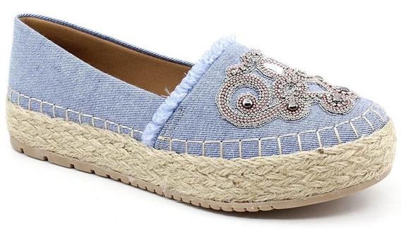 Alpargata Plataforma Confort Show 3295 Jeans