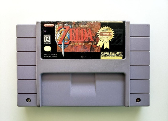 The Legend Zelda A Link To The Past Million Seller Snes