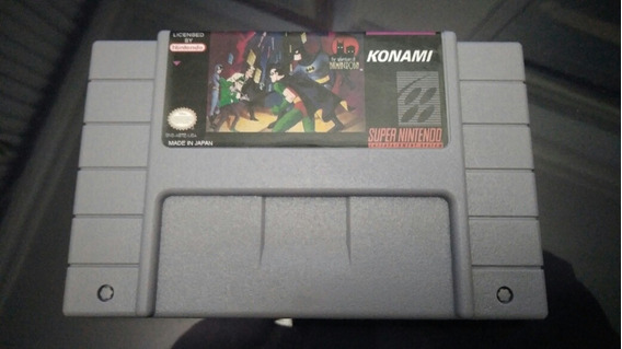 Cartucho Jogo Adventures Of Batman And Robin - Paralelo Snes