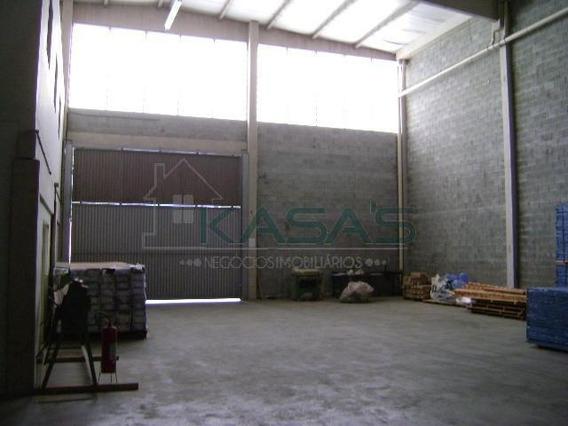 Galpão Para Alugar, 522 M² Por R$ 14.000,00/mês - Utinga - Santo André/sp - Ga0051