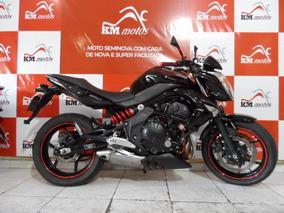 Kawasaki Er 6 N 2011 Abs Preta
