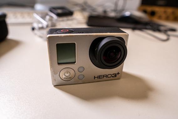 Gopro Hero 3+ + Case Protetor + Acessórios