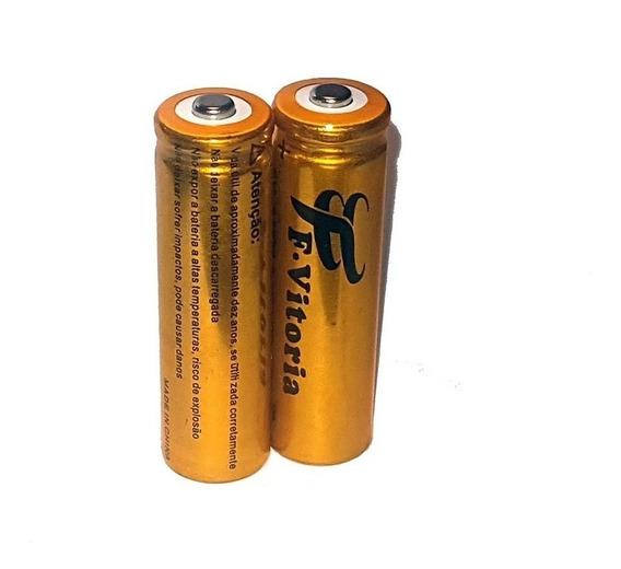 2 Bateria 18650 Li-ion 8800mah 4.2v Lanterna Tática Led