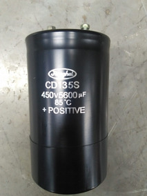 Capacitor 5600uf / 450v Jianghai, Seminovo.