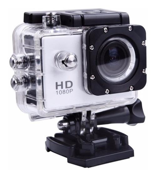 Câmera Actioncam Sportcam Esportiva Filmadora Prova Dágua Hd