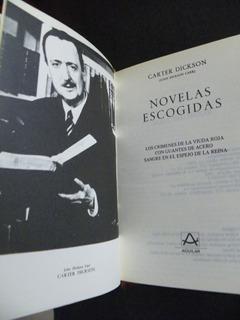 Novelas Escogidas. Carter Dickson Aguilar