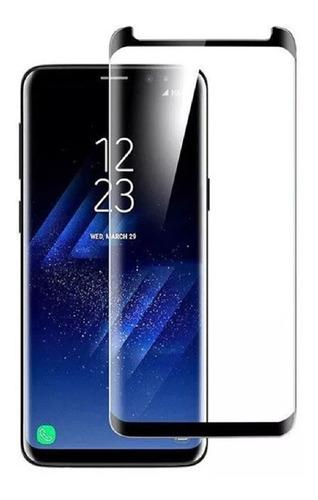 Vidrio Templado Curvo Samsung Galaxy S8 S8 Plus Adhiere Todo