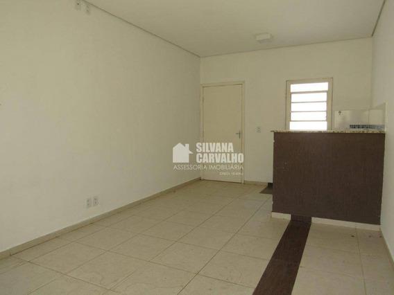 Kitnet Com 1 Dormitório Para Alugar, 32 M² Por R$ 550,00/mês - Jardim Residencial Itaim - Itu/sp - Kn0227