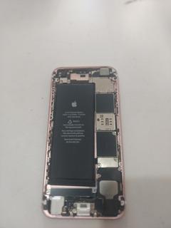 Carcaça iPhone 6s, Bateria E Placa Queimada.