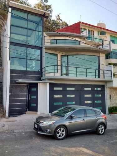 Casa Nueva En Venta En Fraccionamiento Ciudad Brisa, Naucalpan.