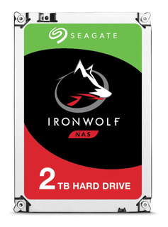 Disco duro interno Seagate IronWolf ST2000VN004 2TB