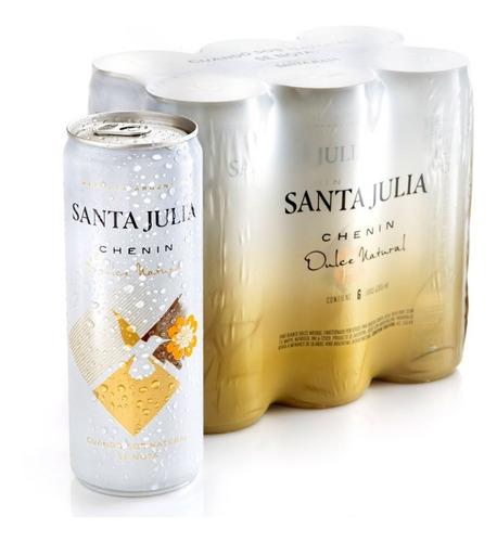 Santa Julia Chenin Lata 269ml Pack X6