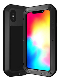 Case iPhone Xs Max | Capa Love Mei Powerful Anti Impacto