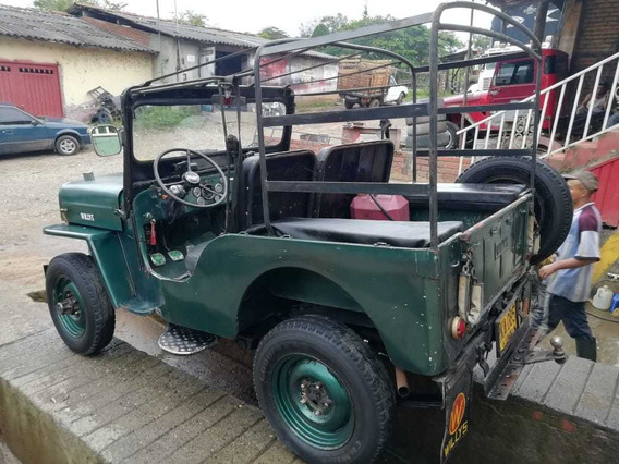 Jeep Willys Modelo 1953