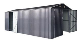 Bodega Jardin Garaje Metal Puerta Abatible 4.3*3.5 Metros