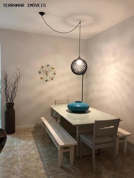 Apartamento Para Venda Em Cabo Frio, Braga, 2 Dormitórios, 1 Suíte, 3 Banheiros, 1 Vaga - Ap 117