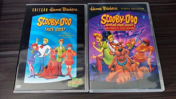 Dvd Scooby-doo Cadê Você! - Temporada Completa Dublada