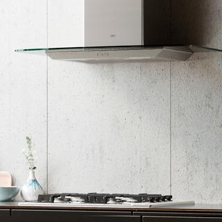 Campana Cocina Extractor Tamel Cristal 90cm Acero Inox - Tst