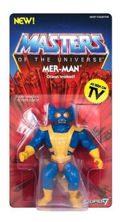 Mer-man Masters Of The Universe Vintage Super 7 Toylover