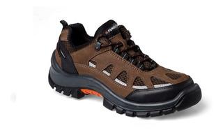 Zapatilla Zapato De Seguridad Funcional Lander Ultraventilad