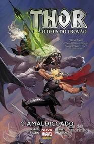 Thor O Deus Do Trovão - Hq Capa Dura - Lacrado