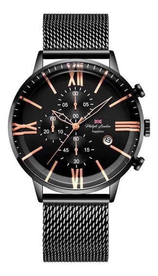 Relógio Masculino Philiph London Pl80098613m