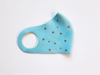 Máscara Verde Tiffany Estrelas Mavolle