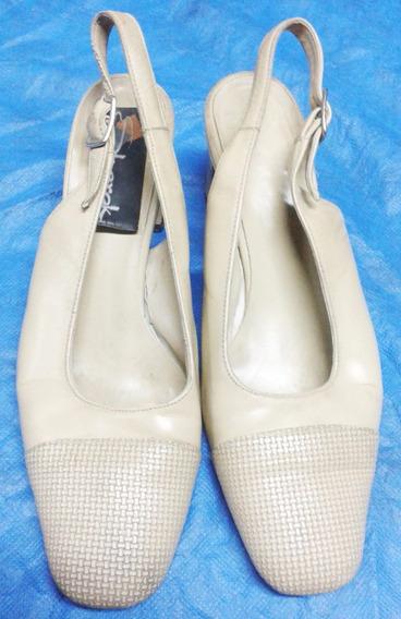 Zapatos 36 Sherak Color Beige