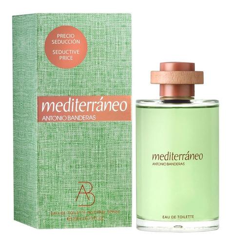Perfume Mediterraneo Antonio Banderas 200ml Original