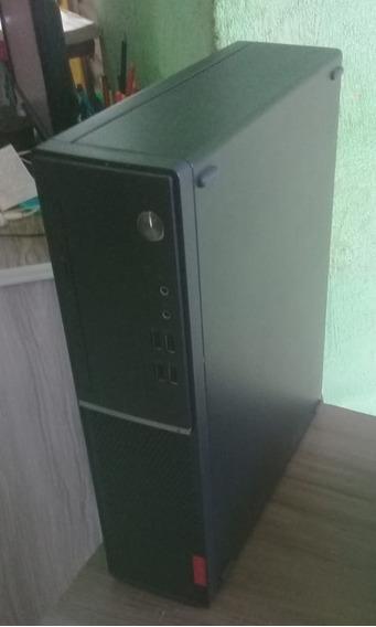Computador Lenovo V520s Semi-novo, Intel Core I3-7100t , 4gb