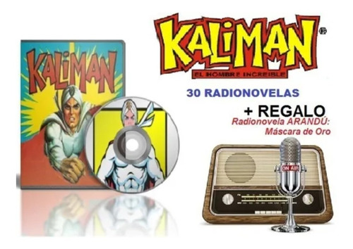 Kaliman  - 30 Radio-novelas + Regalo